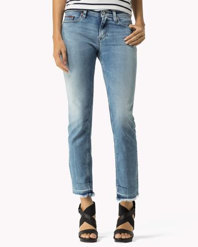 tommy hilfiger damen straight fit jeans reduziert. Black Bedroom Furniture Sets. Home Design Ideas