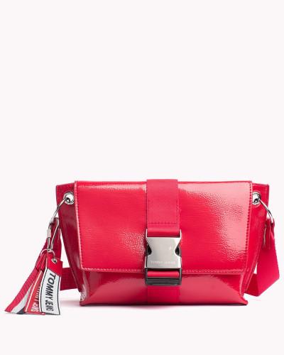 TJ Modern Crossbody-Tasche aus Lackleder