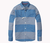 Regular Fit Hemd Mit Gingham-karo