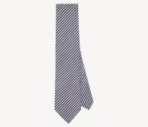 Krawatte aus Seide-Baumwollmix