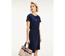 Essentials Kurzarm-Kleid mit Logo