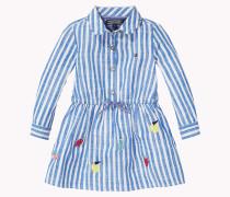 Kleid In A-linie Aus Baumwoll-flammengarn