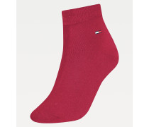Kurze Socken mit Fold-over-Design