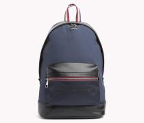 Rucksack mit aufgesetzten Tommy-Streifen