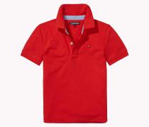 Piqué-Poloshirt aus Stretch-Baumwolle