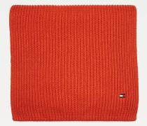 Rippstrick-Schal mit Pima-Baumwolle