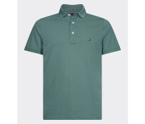 Tommy Slim Fit Baumwoll-Poloshirt
