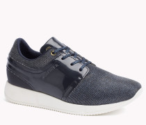 Sneakers Im Materialmix