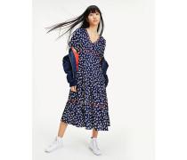 Maxi-Kleid aus Viskose