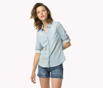 Denim-hemd