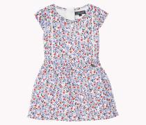 Viskose-kleid Mit Blumenmuster