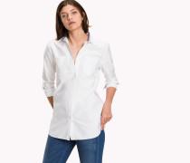 Boyfriend-Hemd aus Baumwolle