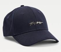 Baseball-Cap aus Bio-Baumwolle mit Signatur