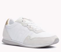 Leder-sneakers Zum Schnüren