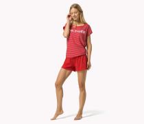 Kurzärmliger Baumwoll-pyjama