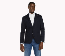 Slim Fit Blazer aus Stretch-Baumwolle