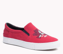 Slip-on Sneakers aus Canvas