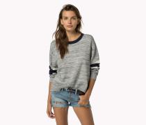 Pullover Aus Gekämmter Baumwolle