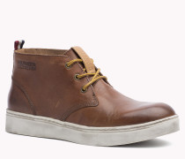 Knöchelhohe Sneakers Aus Leder