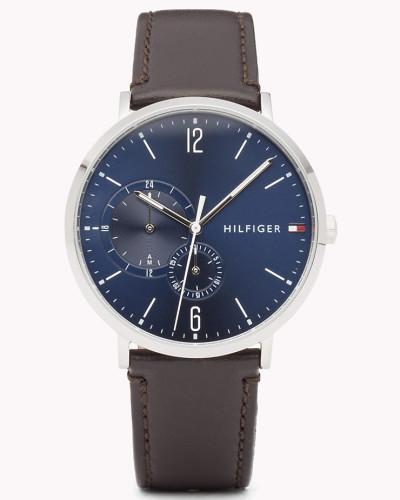 Armbanduhr mit zwei Zifferblättern