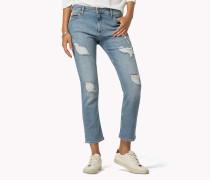 Gekürzte Straight Fit Jeans