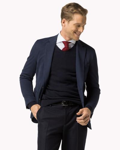 tommy hilfiger herren blazer aus baumwoll mix reduziert. Black Bedroom Furniture Sets. Home Design Ideas