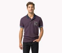 Tailliertes Poloshirt Aus Baumwolle