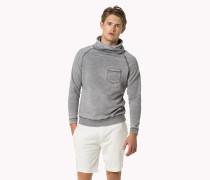 Sweatshirt Mit Trichterkragen