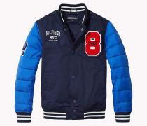 Regular Fit Jacke aus Baumwolle
