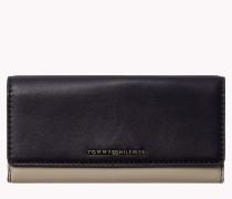 Schmales Leder-Portemonnaie