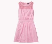 Kleid Aus Baumwoll-krepp