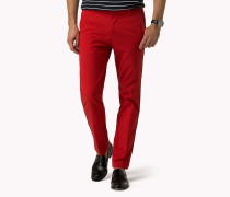 Luxury Straight Fit Twill-Chino
