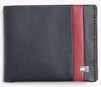 Zweifach Faltbares Leder-portemonnaie