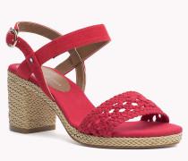 Sandalen aus Gewebe