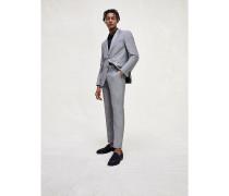 Anzug aus Leinen-Wollmix