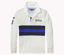 Gestreiftes Rugby-shirt