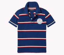 Gestreiftes Kurzarm-Poloshirt