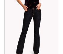 Slim Fit Bootcut-Jeans
