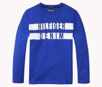 Hilfiger - Rundhals-t-shirt Aus Bio-baumwolle