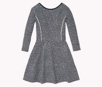 Ausgestelltes Kleid Aus Baumwoll-jersey