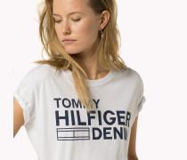 Gekürztes Logo-t-shirt