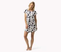 Kurzärmliges Kleid Aus Modal