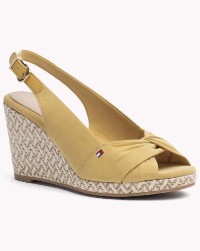 tommy hilfiger damen gemischte sandale mit keilabsatz. Black Bedroom Furniture Sets. Home Design Ideas