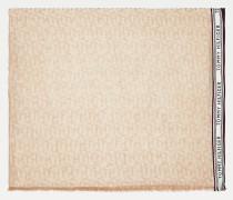 TH Monogram bedruckter Schal