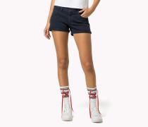 Denim-shorts Aus Twill