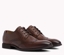 Leather Wingtip Shoes