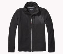 Fleece-sweater Mit Durchgehendem Reißverschluss