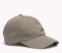 Kappe aus Baumwoll-Twill mit Flag-Logo