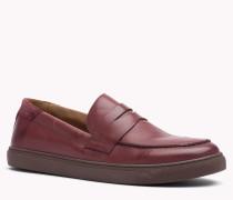 Slip-on-sneakers Aus Leder