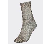 Zendaya Leoparden-Socken